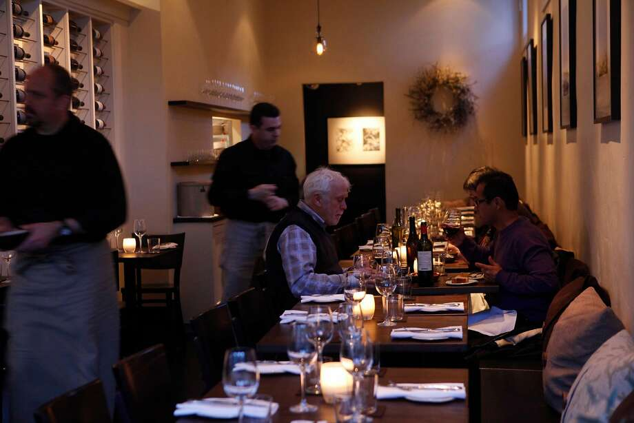 The main dining room was photographed at the Frances on Friday January 22, 2009 in San Franicisco, Calif. Photo: Mike Kepka, The Chronicle