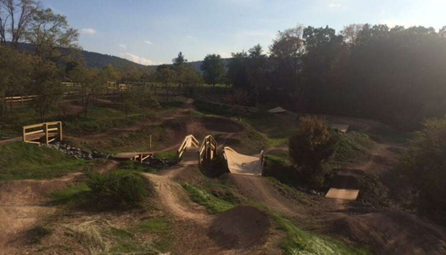 Dirtsculpt is designing and building a family-friendly mountain bike park at Powder Ridge in Middlefield that can be enjoyed by cyclists of every level. Photo: Dirtsculpt Photo
