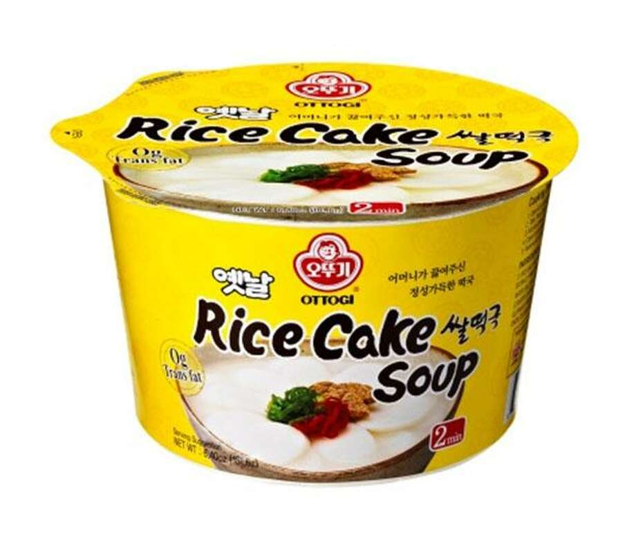 "Ottogi America, Inc. of Gardena, Calif., is recalling 6.40-ounce ""Rice cake soup"" food, because it may contain undeclared milk. Photo courtesy of the U.S. Food and Drug Administration. Photo: Contributed / Contributed"