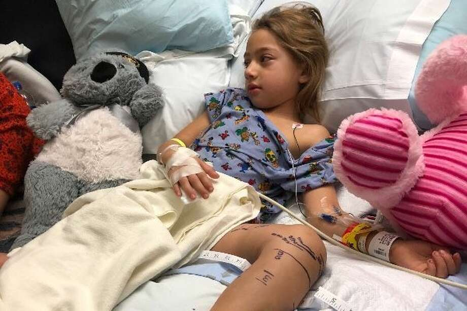 A Texas five-year-old is recovering from a diamondback rattlesnake bite she received Sunday.See if you can identify Texas' venomous snakes in the quiz ahead. Photo: GoFundMe