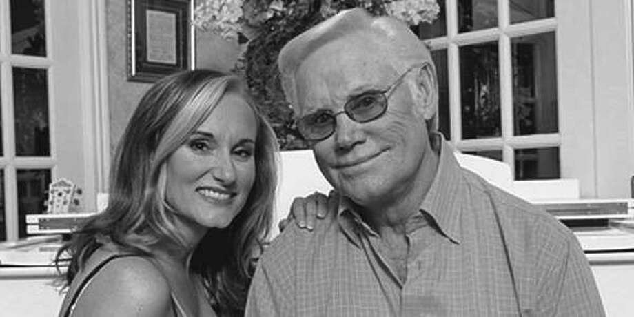 Georgette Jones and her dad George Jones. Georgette Jones will be in Conroe at the Crighton Theatre March 16 along with Merle Haggard's sons, Noel and Ben Haggard. Call 936-441-7469 for tickets.