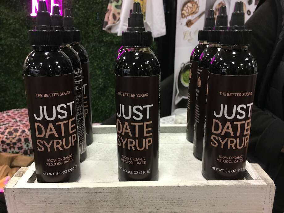 Wheels of Parmigiano Reggiano, vegan jerky, alternative sweeteners and turmeric-rich products were showcased at the 2018 Winter Fancy Food Show, which was held at San Francisco's Moscone Center this week. Photo: Sarah Fritsche
