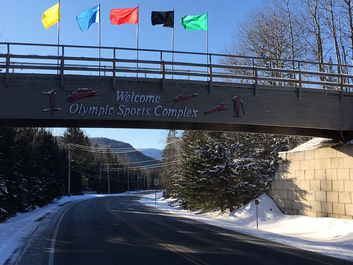 The Lake Placid Olympic Sports Complex, a winter sports complex located at the foot of Mount Van Hoevenberg near Lake Placid, New York. (Photo by Eric Anderson / Times Union)