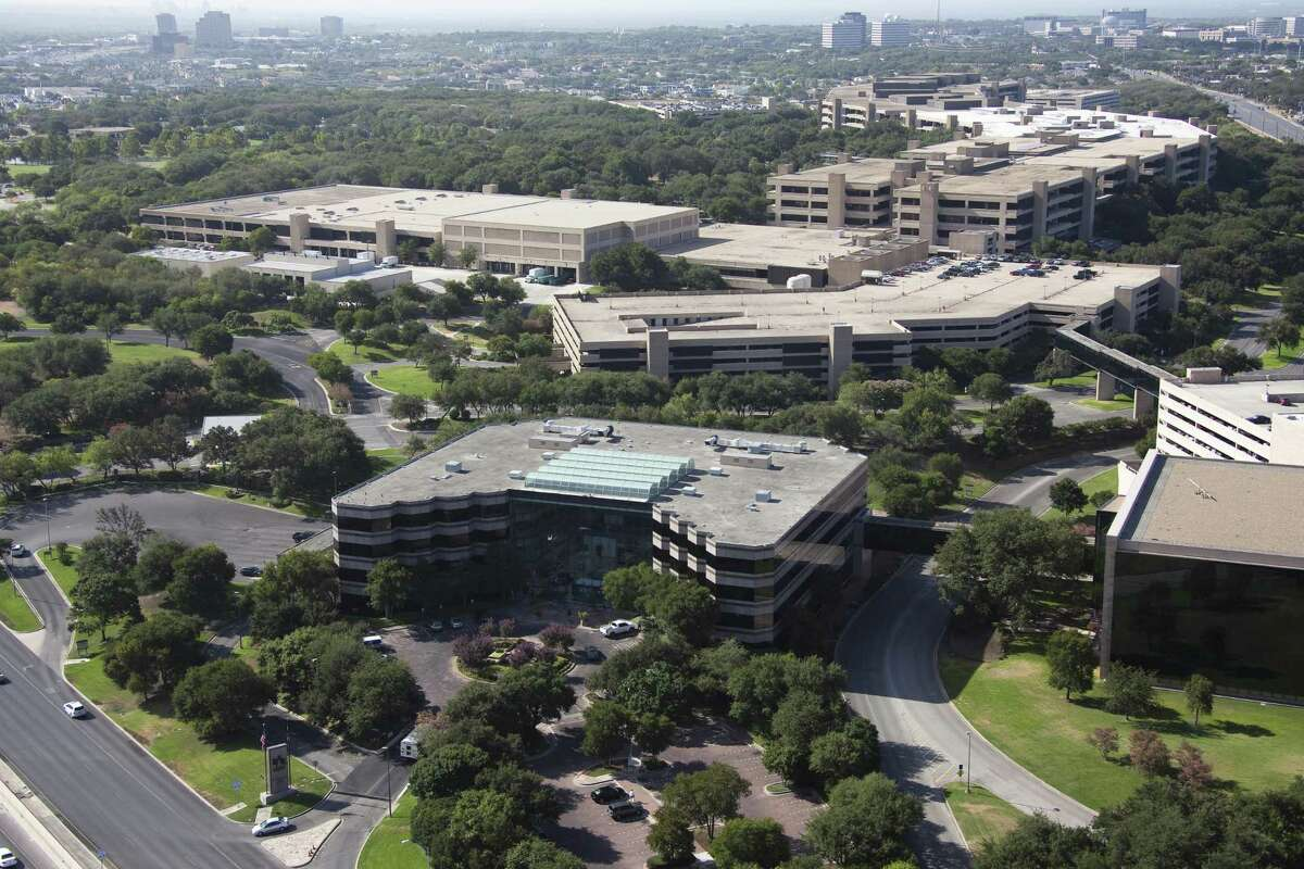 USAA home office aerial taken in 2009 in San Antonio.