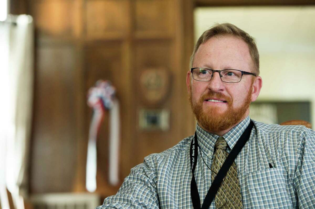 Marty Dinan, director of veterans enrollment at the College of Saint Rose. (Provided, photo by Mark McCarty)