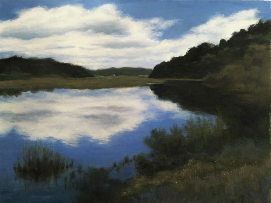 """Reflections"" by Peter Barrett of East Haddam is part of Maple and Main's new juried show, opening Jan. 28. Photo: Contributed Photo"
