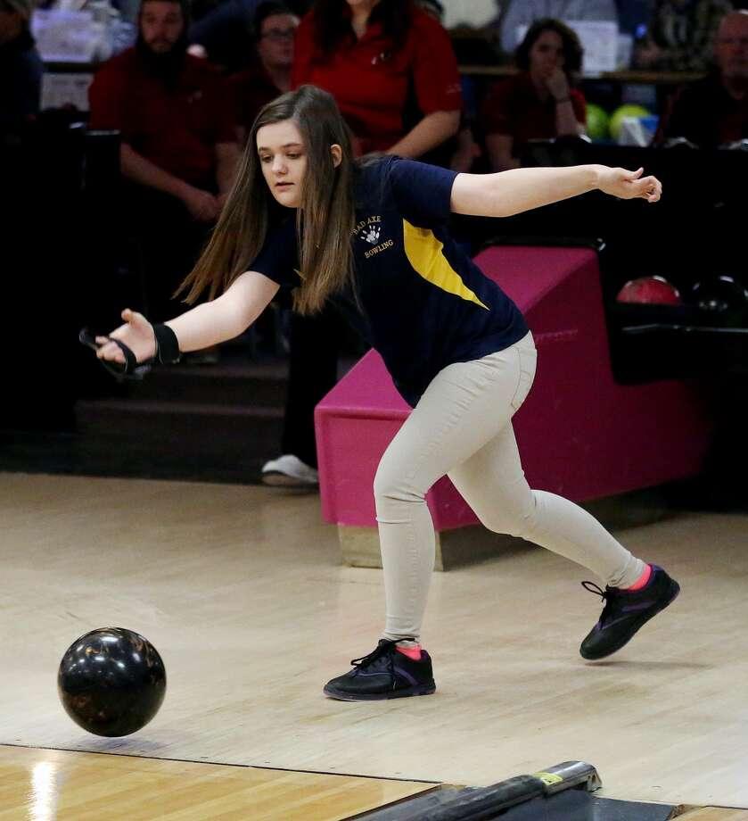 Sandusky at Bad Axe — Bowling 2018 Photo: Paul P. Adams/Huron Daily Tribune