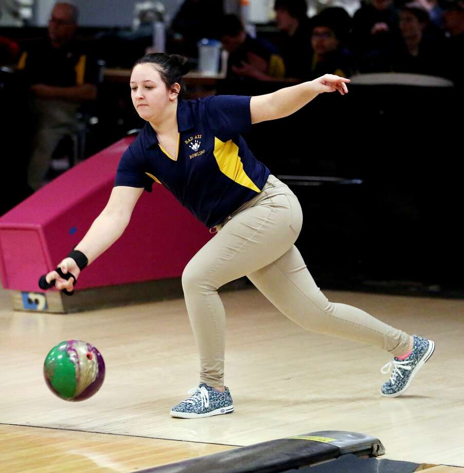 Sandusky at Bad Axe — Bowling 2018 Photo: Paul P. Adams/Huron Daily Tribune