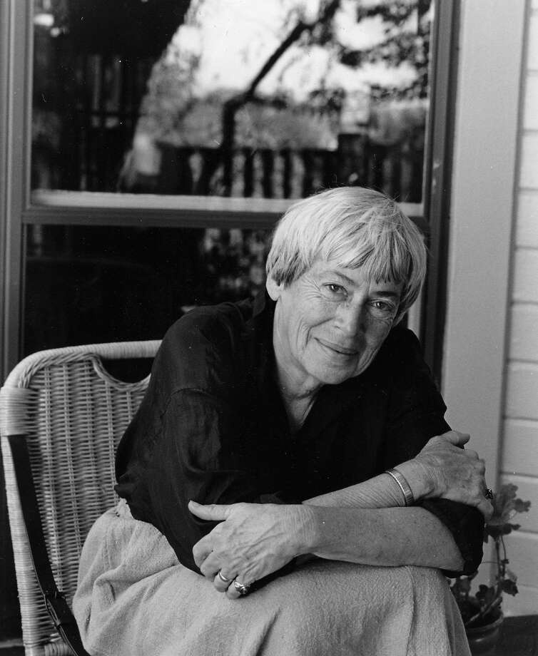 Author Ursula K. Le  Guin, born in Berkeley,  died at home Monday in Portland, Ore.   She was 88. Photo: MARIAN WOOD KOLISCH, NYT
