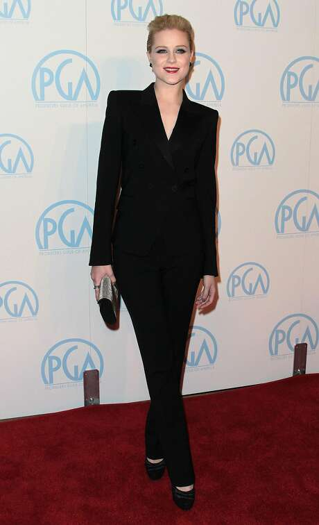Actress Evan Rachel Wood attends the 23rd Annual Producers Guild Awards at The Beverly Hilton Hotel on January 21, 2012 in Beverly Hills, California. Photo: Frederick M. Brown, Getty Images