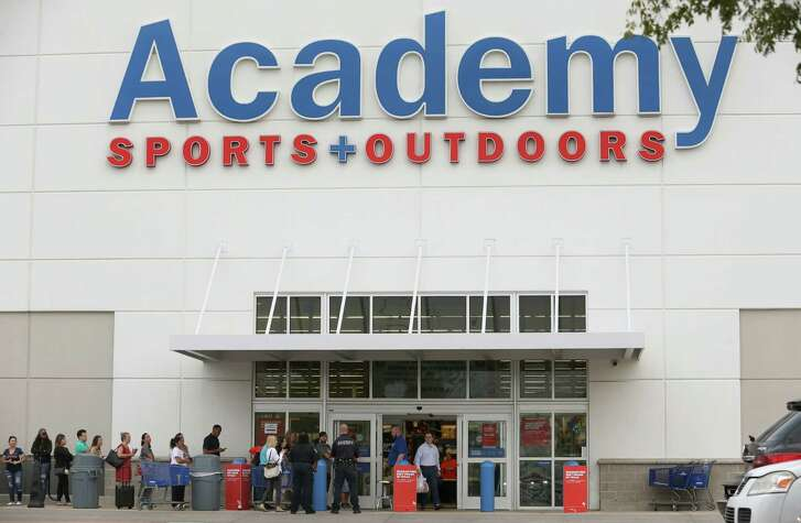 Houston Astros fans line up to buy World Series Championship merchandise at Academy Sports and Outdoors Thursday, Nov. 2, 2017, in Houston. The city will host a championship parade Friday at 2 p.m. ( Godofredo A. Vasquez / Houston Chronicle )
