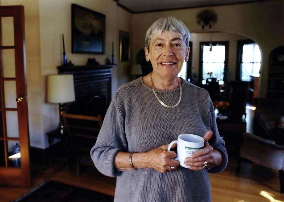 Ursula Le Guin, the award-winning science fiction and fantasy writer who explored feminist themes and was best known for her Earthsea books, died peacefully Monday, Jan. 22, 2018, in Portland, Oregon. Photo: Benjamin Brink, Associated Press / The Oregonian
