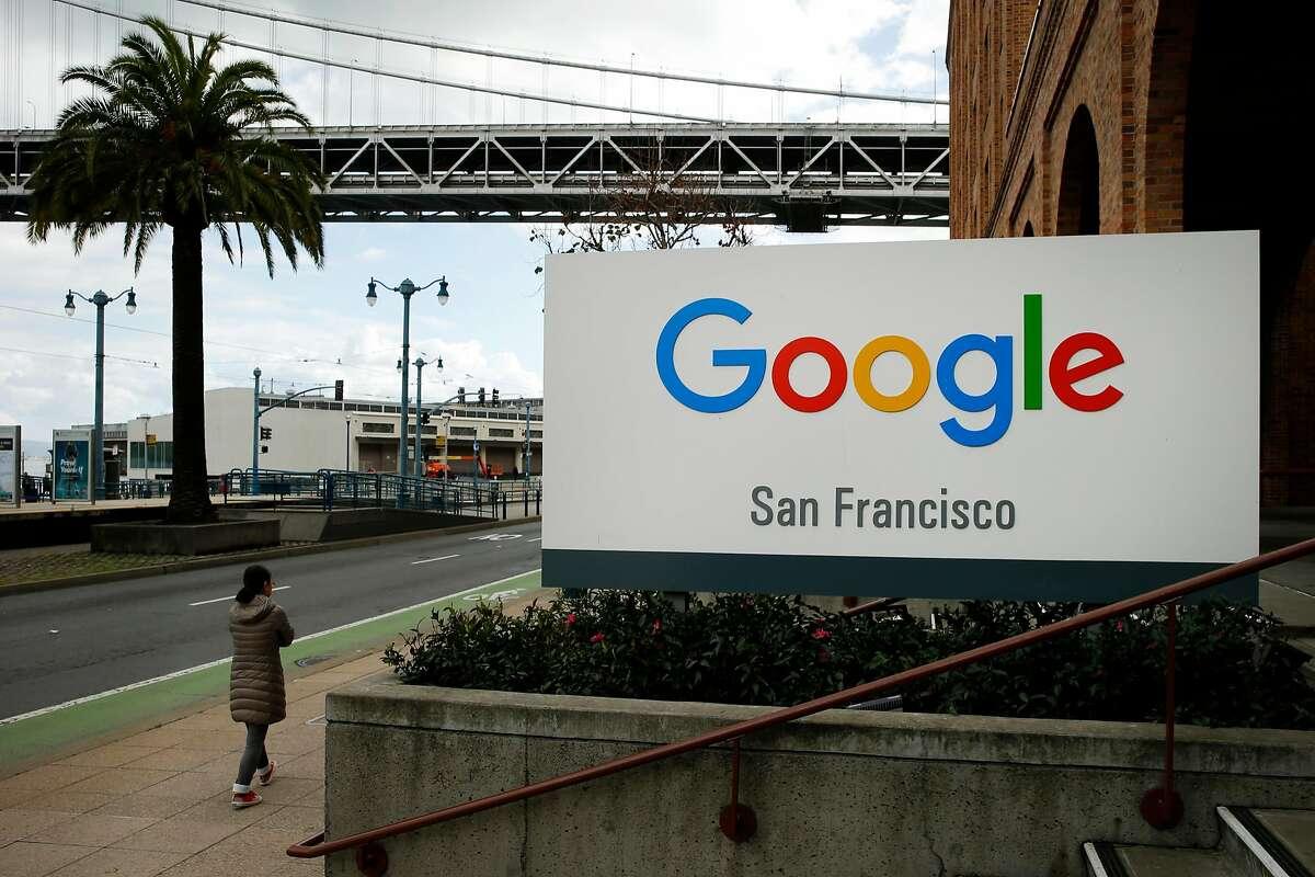 Google San Francisco, Friday, Jan. 19, 2018, in San Francisco, Calif.