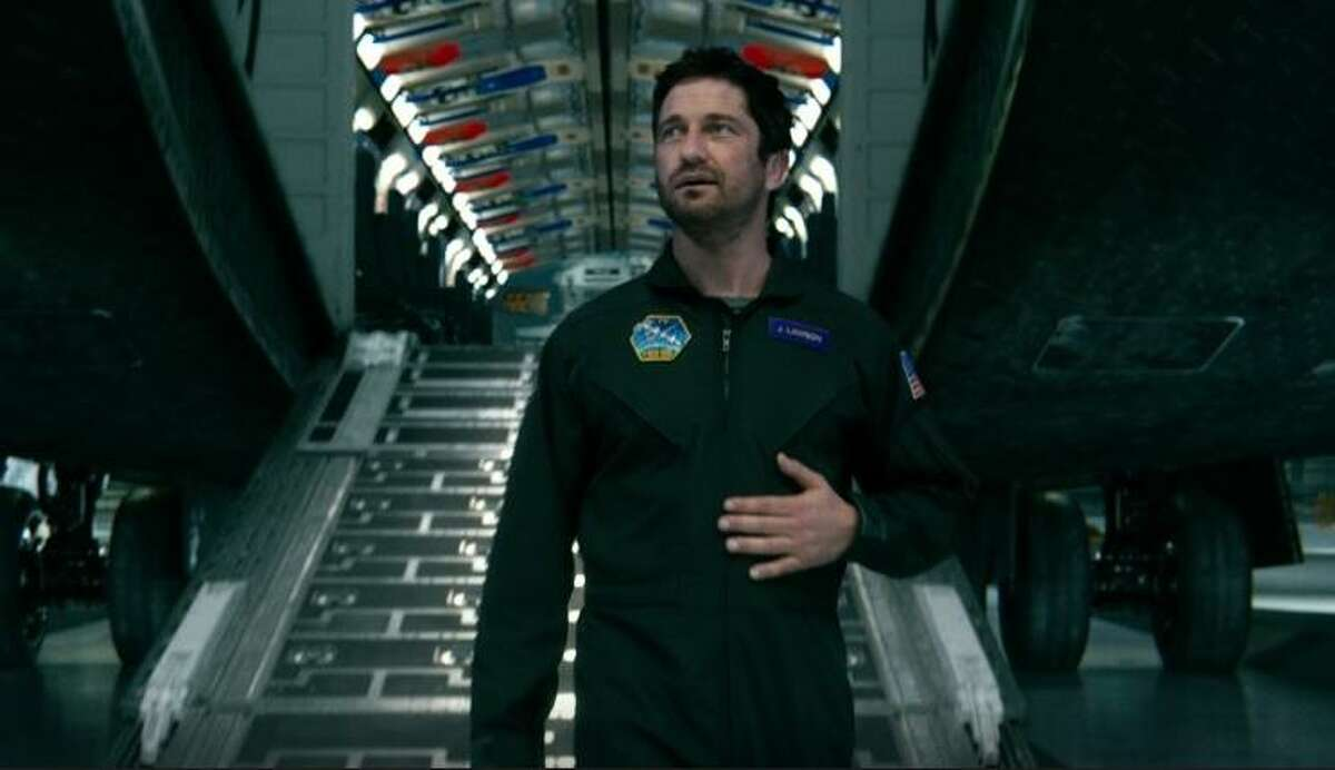 """Gerard Butler is one man against the weather in """"Geostorm."""""""