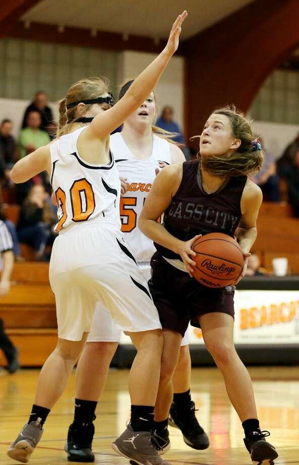Cass City at Ubly — Girls Basketball 2018 Photo: Paul P. Adams/Huron Daily Tribune