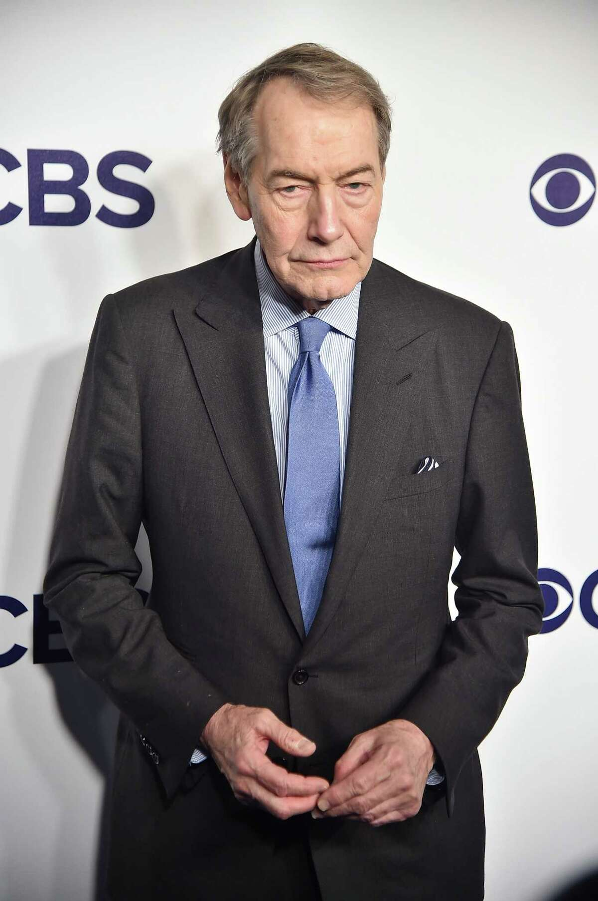 Charlie Rose has been fired by CBS in the wake of sexual harassment allegations by 8 women. NEW YORK, NY - MAY 17: Charlie Rose attends the 2017 CBS Upfront on May 17, 2017 in New York City. (Photo by Theo Wargo/Getty Images) ORG XMIT: 700033295