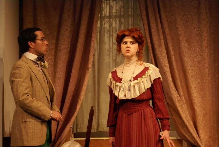 Bassinet is played by Ian LaChance and Yvonne by Nicolette Callaway. (David Gentile)