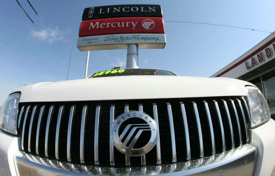 Ford will discontinue its Mercury brand by the end of the year and has offered dealers buyouts. The luxury Lincoln line will be expanded and get a small car. (Associated Press Archive) Photo: DAVID ZALUBOWSKI / AP