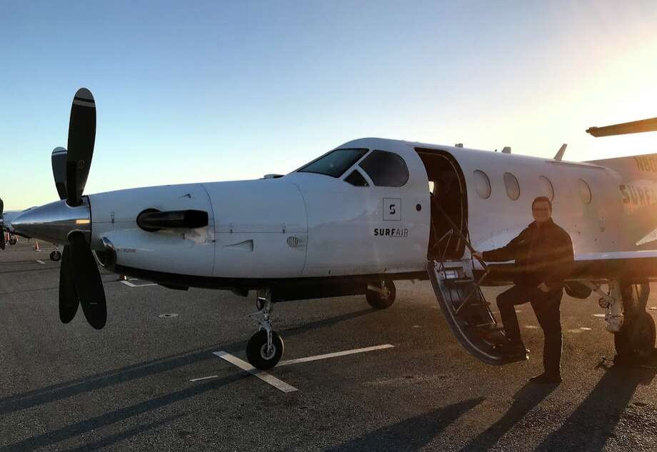 Surf Air offers all-you-can-fly memberships for small-lane travel around California and Nevada.  Photo: Chris McGinnis