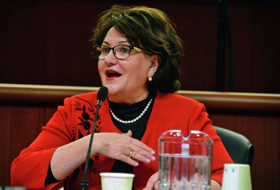 Education Commissioner MaryEllen Elia testifies before a NYS Legislature joint budget hearing Tuesday Jan. 23, 2018 in Albany, NY.  (John Carl D'Annibale/Times Union) Photo: John Carl D'Annibale