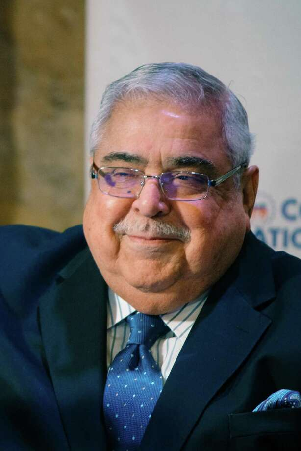 Longtime Precinct 2 Bexar County Commissioner Paul Elizondo will lie in state at San Fernando Cathedral beginning at 1 p.m. Wednesday. His funeral services will be Thursday morning. Photo: Tito West /Courtesy Photo / Tito West