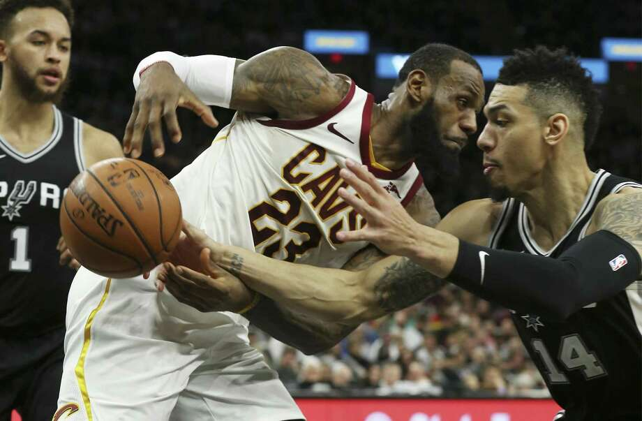 Danny Green's defensive play should attract all-NBA attention. Photo: Kin Man Hui /San Antonio Express-News / ©2018 San Antonio Express-News