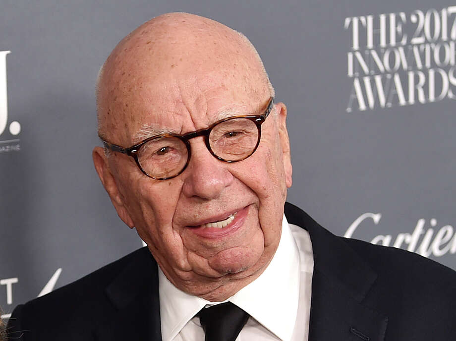 """FILE - In this Wednesday, Nov. 1, 2017, file photo, Fox News chairman and CEO Rupert Murdoch attends the WSJ. Magazine 2017 Innovator Awards at The Museum of Modern Art in New York. Murdoch says Facebook should pay fees to """"trusted"""" news producers for their content. Murdoch, whose companies own The Wall Street Journal, Fox News, the New York Post and other media properties, said Monday, Jan. 22, 2018, that publishers are """"enhancing the value and integrity of Facebook through their news and content but are not being adequately rewarded for those services."""" (Photo by Evan Agostini/Invision/AP, File) Photo: Evan Agostini, INVL / 2017 Invision"""