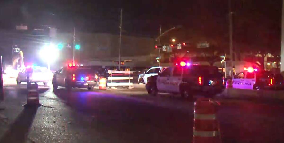 A Waller County Sheriff's Office deputy shot a driver who police say pointed a gun at him in west Houston Tuesday morning. The off-duty deputy was working security for a construction crew near Post Oak Boulevard and W. Alabama Street around 1:15 a.m. when police say a male driver stopped, put his head down and might have fallen asleep.