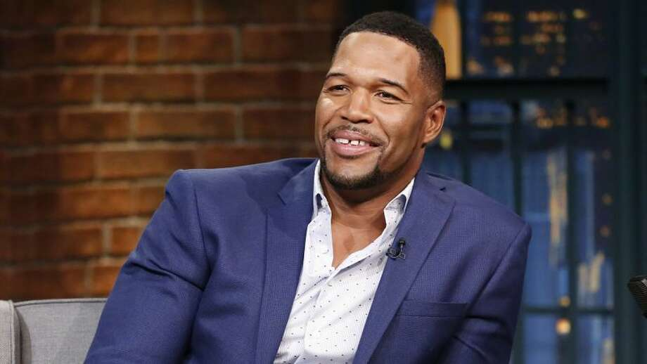 Michael Strahan said Monday that if he were still playing in the NFL, he likely would kneel during the national anthem Photo: Lloyd Bishop | Getty Images