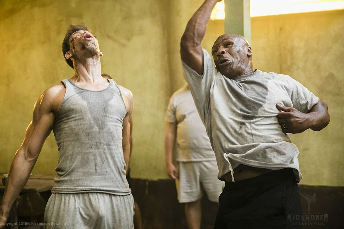 Mike Tyson goes nuclear on Alain Moussi in 'Kickboxer: Retaliation'