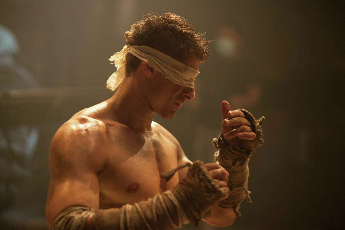 Alain Moussi trains to fight blindfolded in 'Kickboxer: Retaliation'