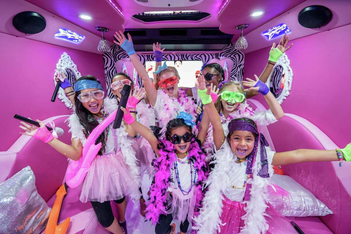 Rockstar Spa Bus turns childrens parties into an event.