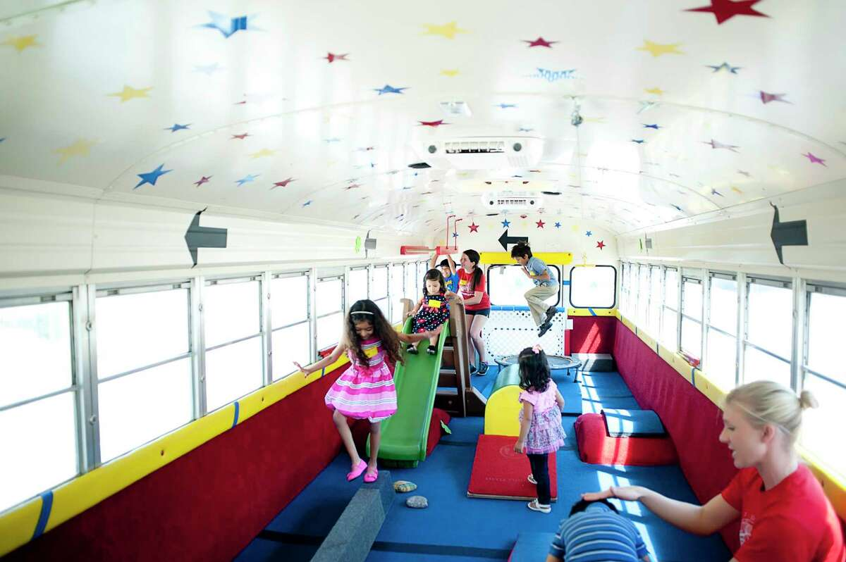 Tumble Bus provides an active environment for childrens' parties.