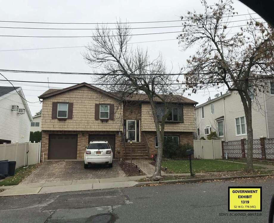 Joseph Percoco lived in this house on Staten Island until  2012. The image was introduced into evidence in his federal trial on Jan. 23, 2018. Photo: U.S. Attorney's Office