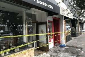 A fire late Tuesday night damaged three businesses onWest Portal Avenue in San Francisco. Firefighters had the blaze under control in about an hour.