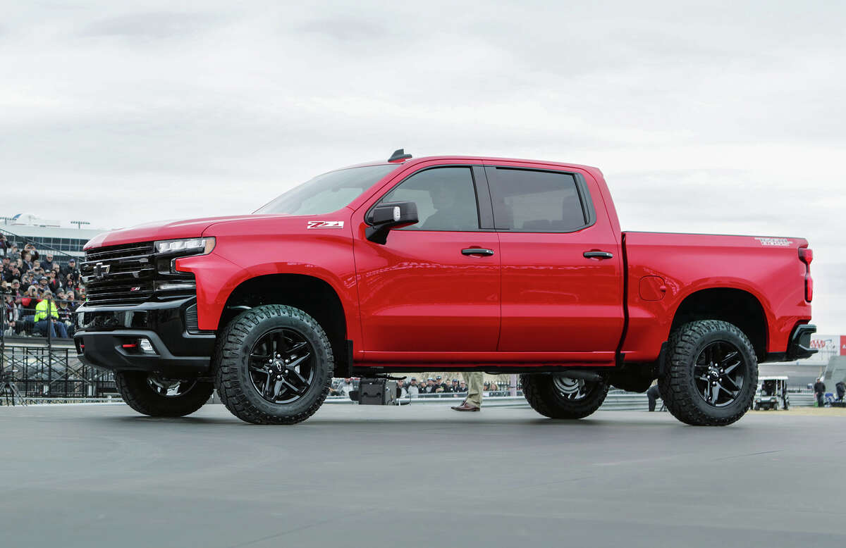The LT Trailboss is one of eight models the sleeker 2019 Silverado will come in.