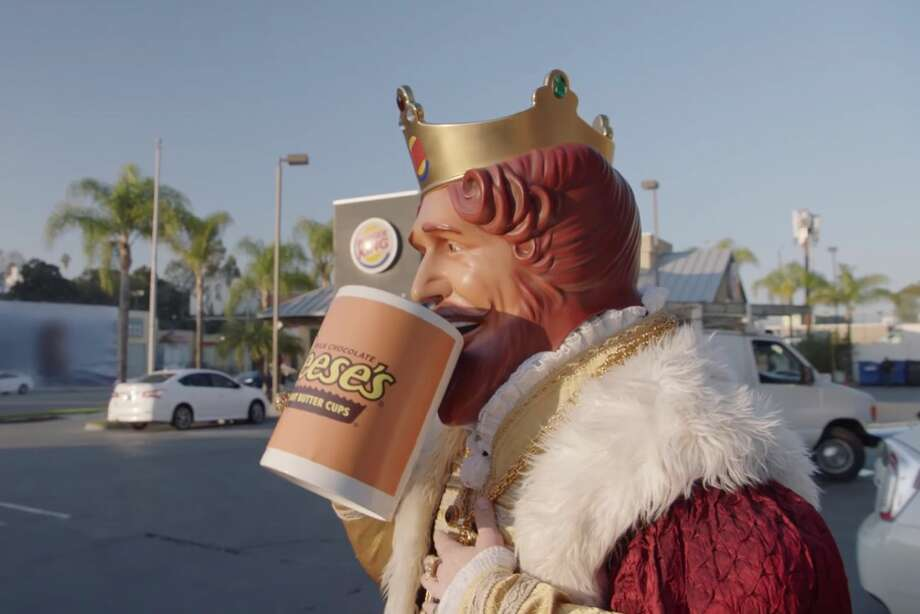 Click through the gallery to see the strangest stuff people left in Ubers in 2017. In one case, someone left a burger king visor Photo: Burger King | Youtube