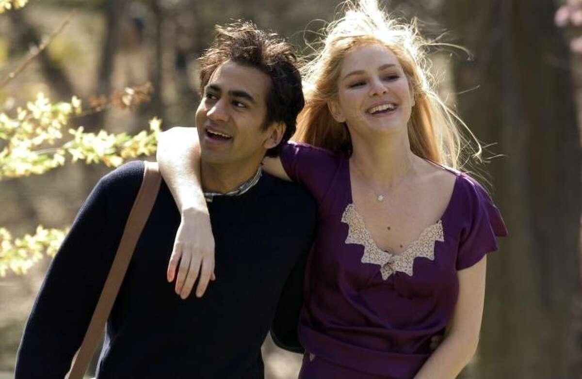 Jacinda Barrett and Kal Penn in 'The Namesake,' the film based on a novel by Jhumpa Lahiri