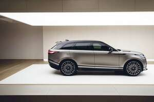 The elegant new Range Rover Velar has two 10-inch high-definition touchscreens and starts at $49,900.