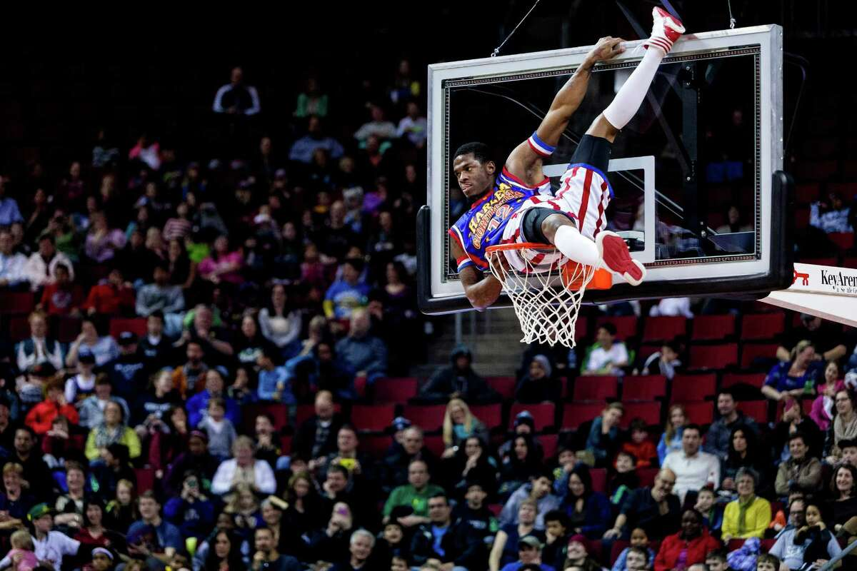 The Harlem Globetrotters perform Friday and Saturday at NRG Center.