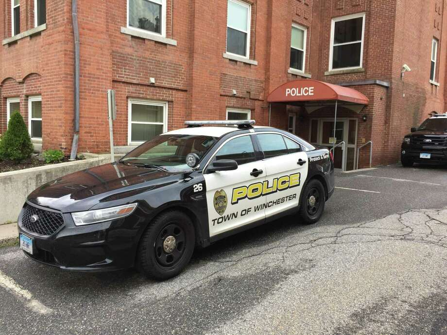 The Winchester Police Department in Winsted. Photo: Ben Lambert / Hearst Connecticut Media