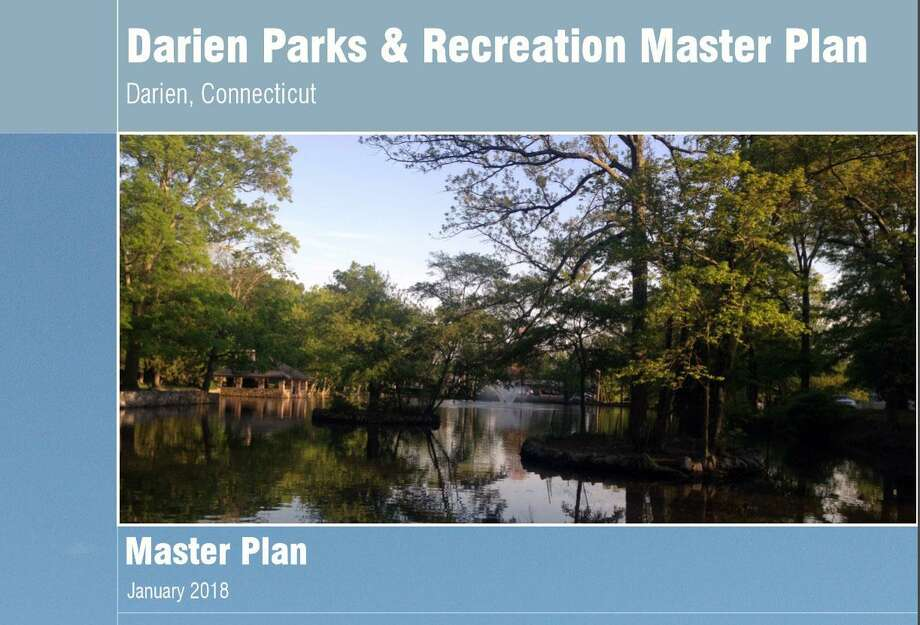 The cover of the Darien Parks and Recreation Master Plan. Photo: Humberto J. Rocha / Hearst Connecticut Media / Darien News