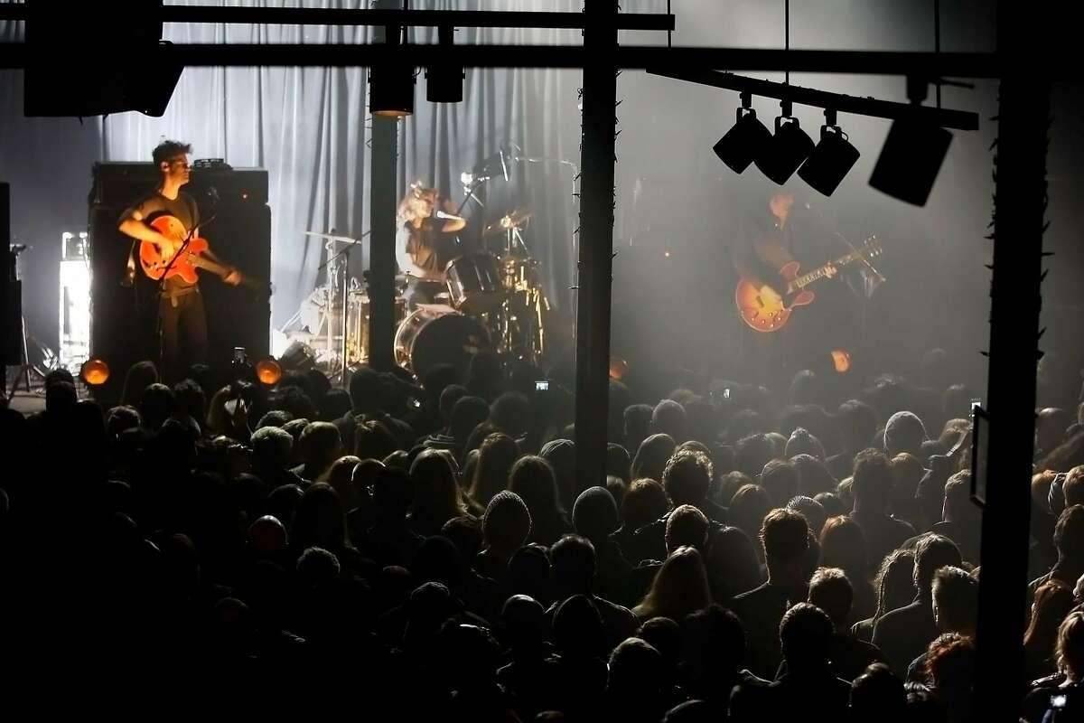 Black Rebel Motorcycle Club performs at Slim's on December 19, 2012 in San Francisco, Calif.