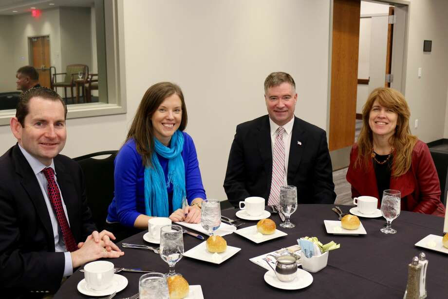 Were you Seen at the Hearst Media Center Leadership Luncheon event on Jan. 24, 2018, with former Congressman Chris Gibson? Photo: Amanda Case