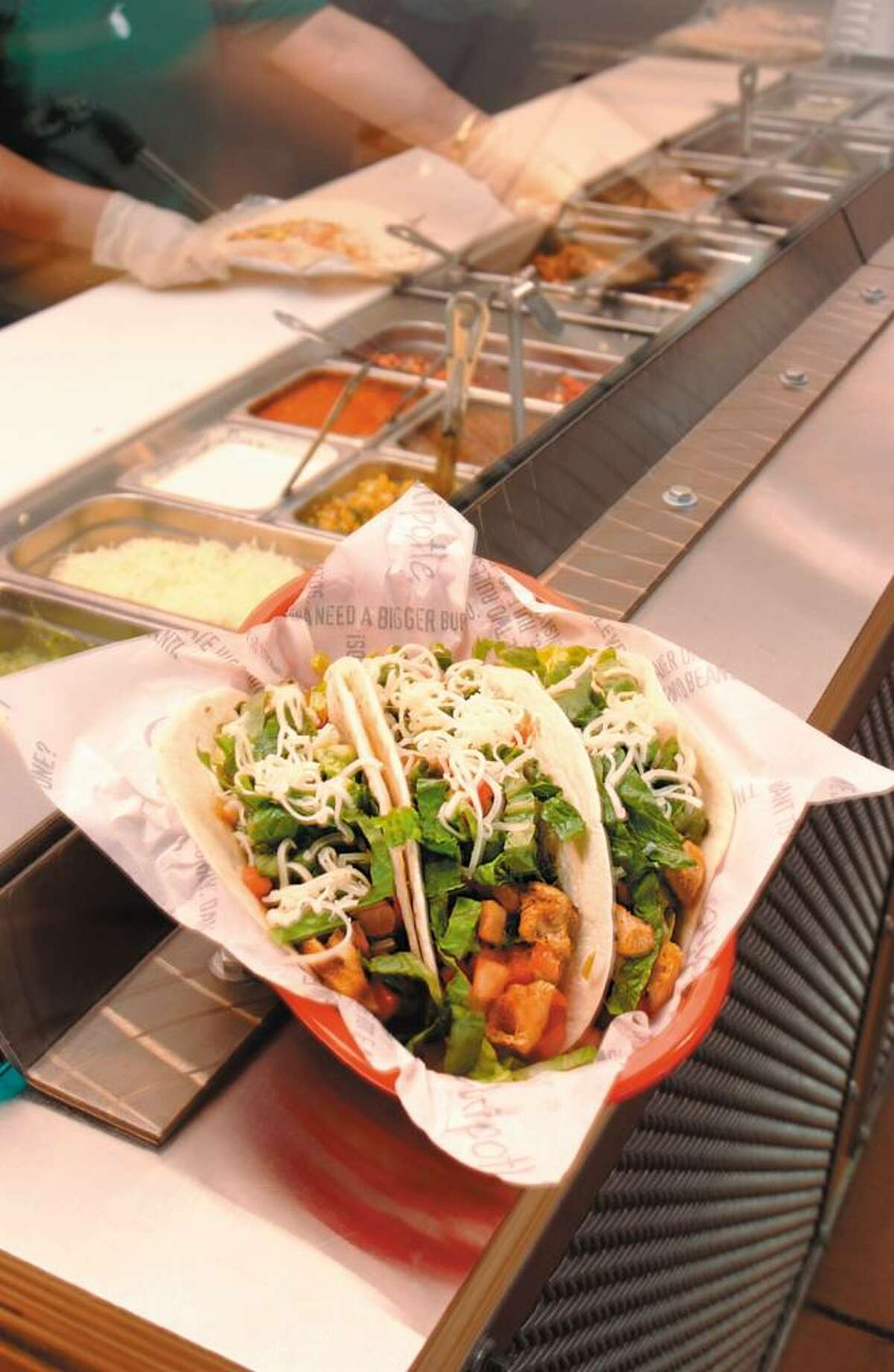 Chipotle , at various locations in the Capital Region.