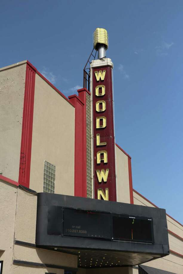 The Woodlawn Theatre has been listed for sale. Photo: Courtesy Photo