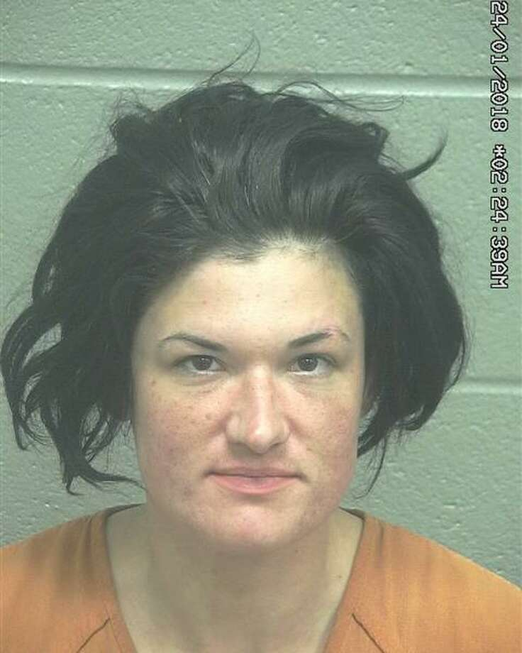 Katherine Johanna King, 36, wasarrested Jan. 22 after allegedly being involved in an aggravated robbery, according to court documents. Photo: Midland County Sheriff's Office