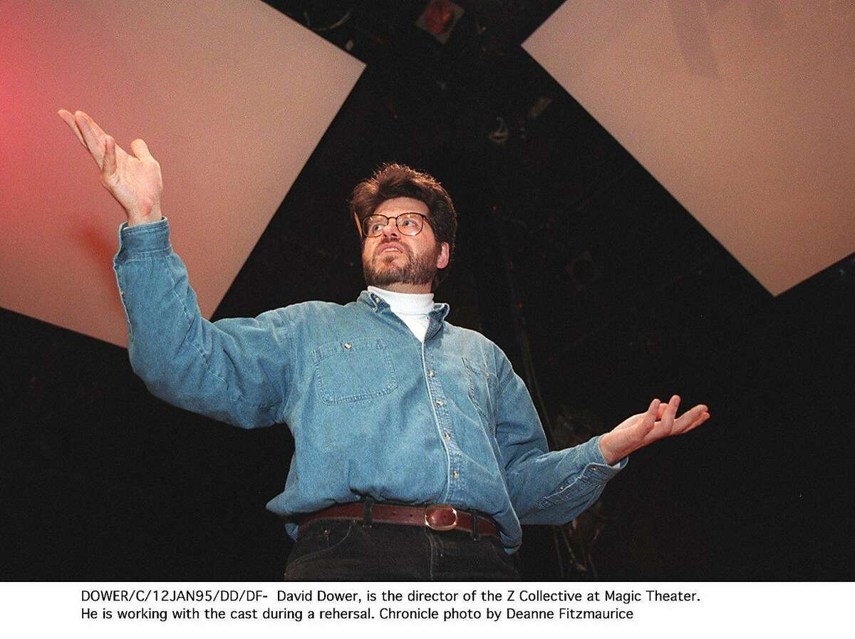 DAVID DOWER, DIRECTOR OF THE Z COLLECTIVE AT MAGIC THEATER.