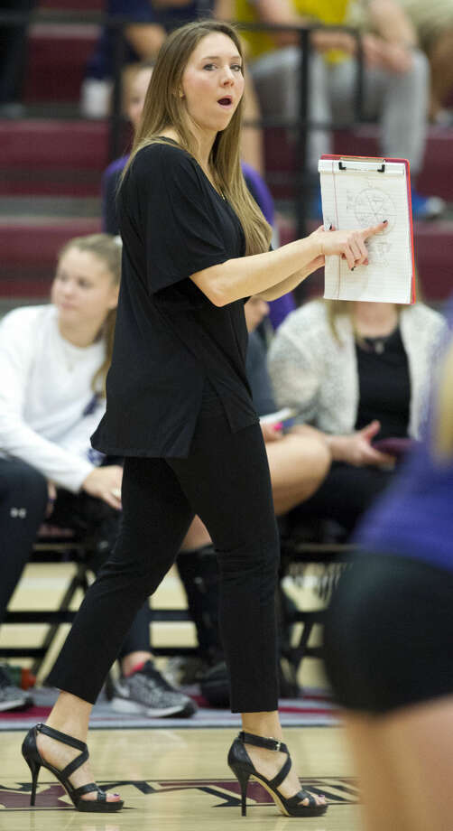 Kayli Faigle was named the head volleyball coach at Montgomery High School after spending two seasons at College Station.