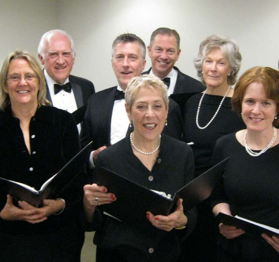 Members of the Greenwich Choral Society prepare for their performance for the Curiosity Concert series on Jan. 28, 2018, in Greenwich, Conn. Photo: Greenwich Choral Society / Contributed Photo / Connecticut Post contributed